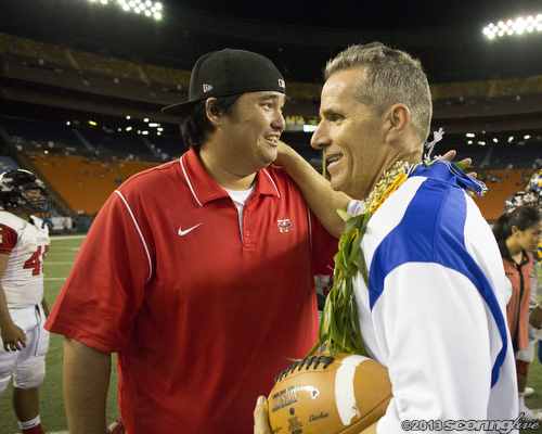 Coach rich miano meet after the ision ii title game sean nakamura