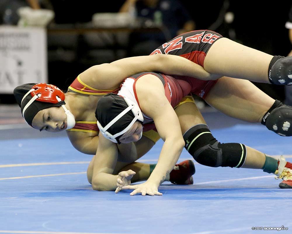 Asian girl wrestling 7