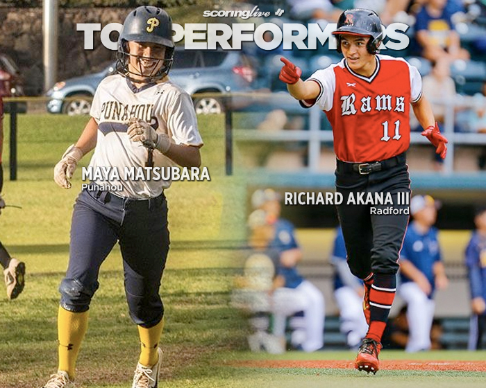 Matsubara, Akana carried Puns, Rams last week - ScoringLive